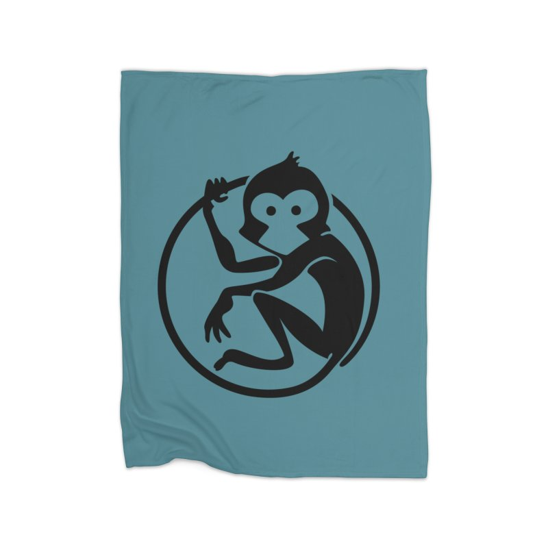 Monkey Home Blanket by The m0nk3y Merchandise Store