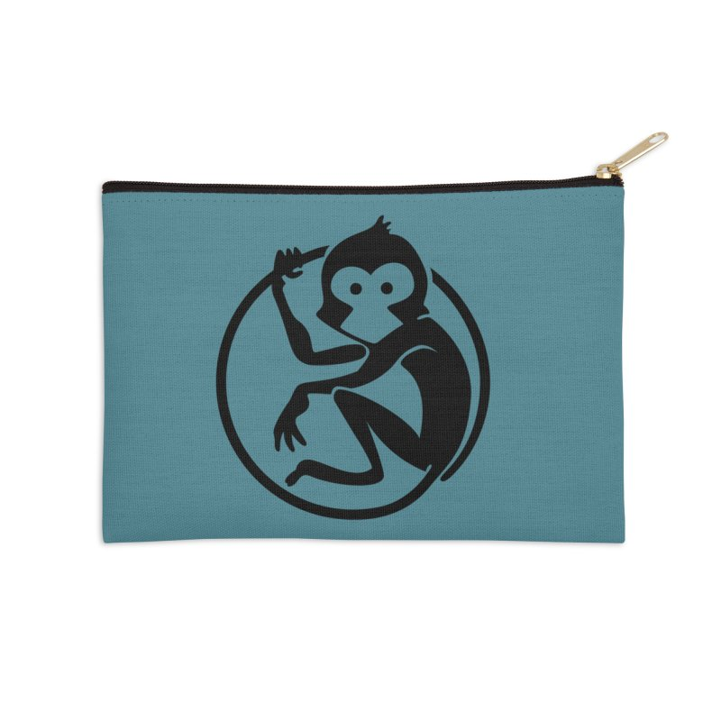 Monkey Accessories Zip Pouch by The m0nk3y Merchandise Store