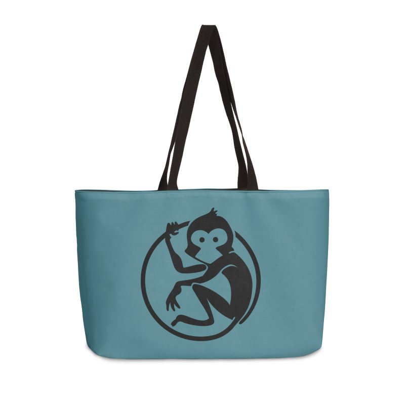 Monkey Accessories Weekender Bag Bag by The m0nk3y Merchandise Store