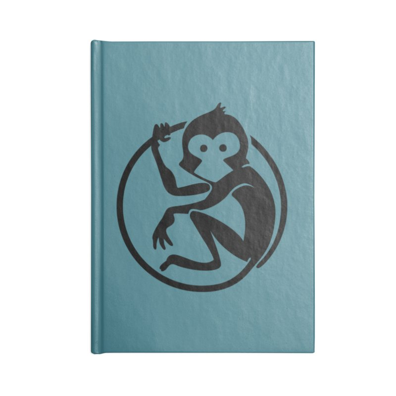 Monkey Accessories Lined Journal Notebook by The m0nk3y Merchandise Store