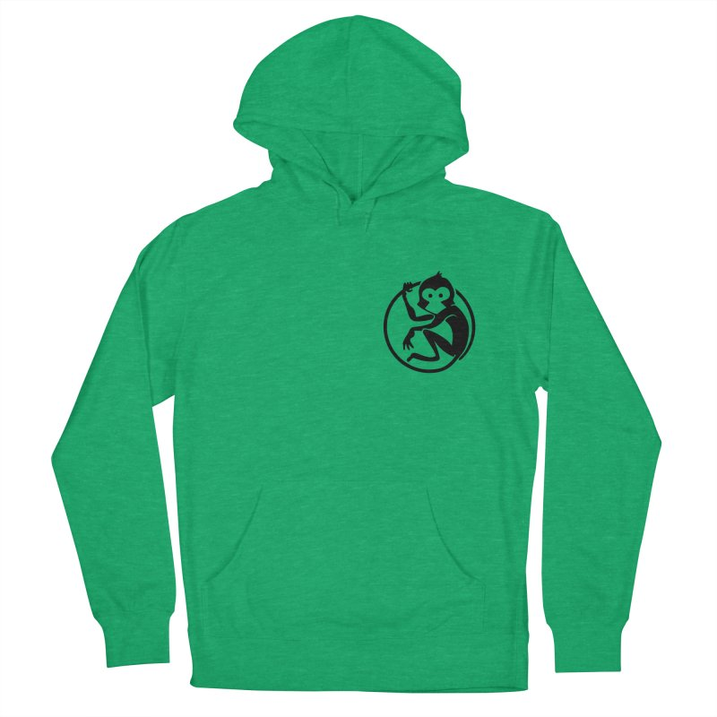 Monkey Women's French Terry Pullover Hoody by The m0nk3y Merchandise Store