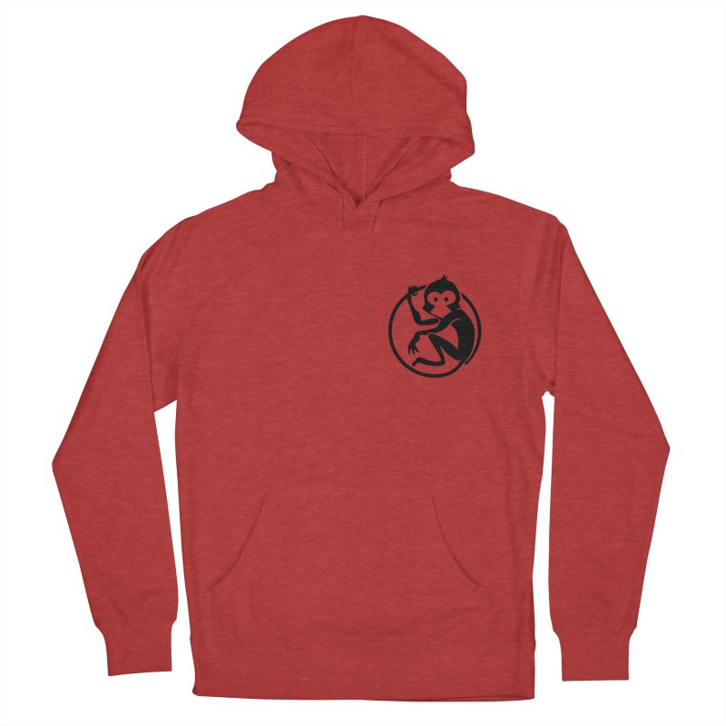 Monkey Men's French Terry Pullover Hoody by The m0nk3y Merchandise Store