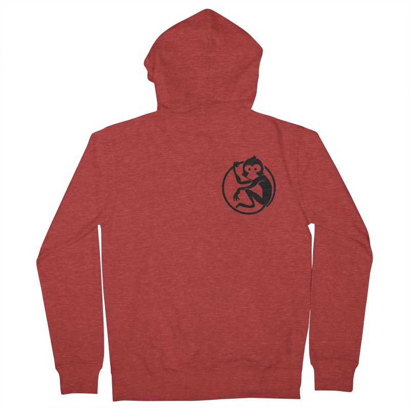 Monkey Women's French Terry Zip-Up Hoody by The m0nk3y Merchandise Store