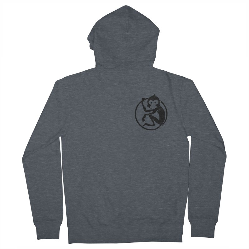 Monkey Men's French Terry Zip-Up Hoody by The m0nk3y Merchandise Store