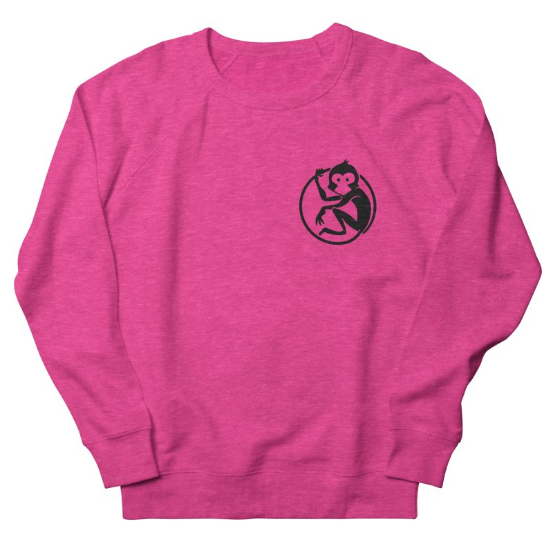 Monkey Women's French Terry Sweatshirt by The m0nk3y Merchandise Store