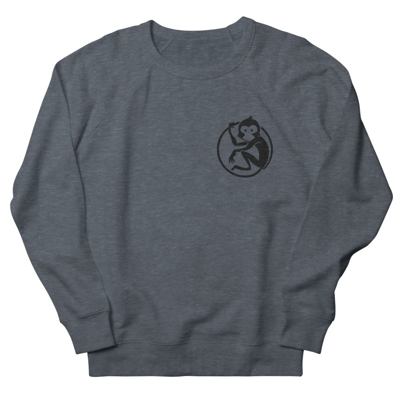 Monkey Men's French Terry Sweatshirt by The m0nk3y Merchandise Store