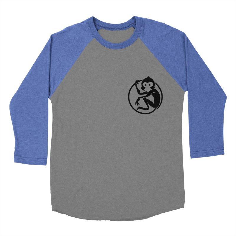 Monkey Women's Baseball Triblend Longsleeve T-Shirt by The m0nk3y Merchandise Store