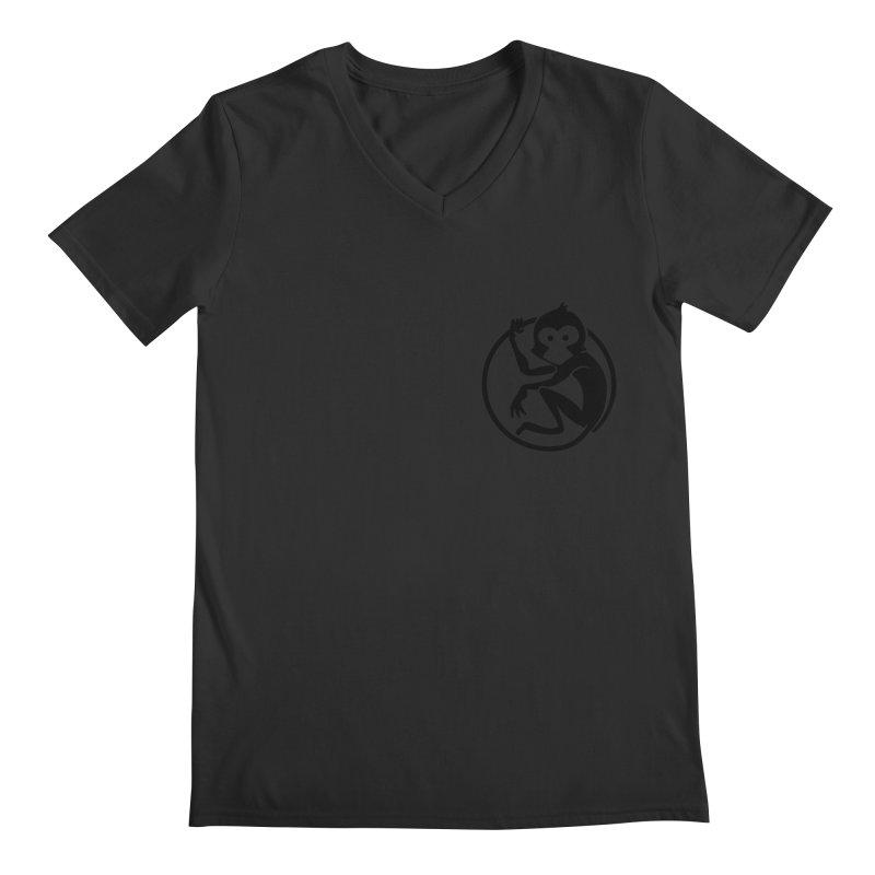 Monkey Men's Regular V-Neck by The m0nk3y Merchandise Store