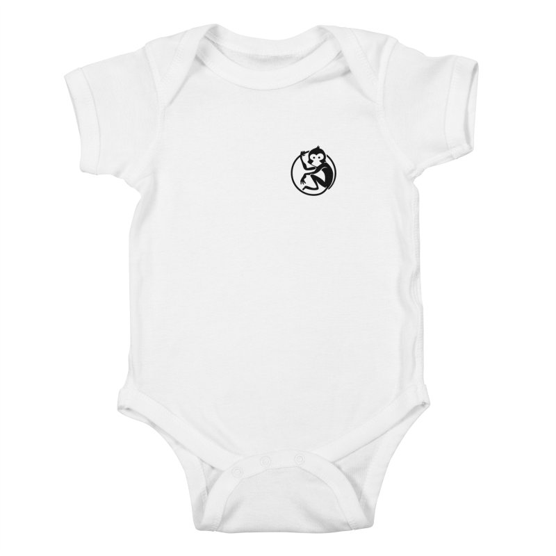 Monkey Kids Baby Bodysuit by The m0nk3y Merchandise Store