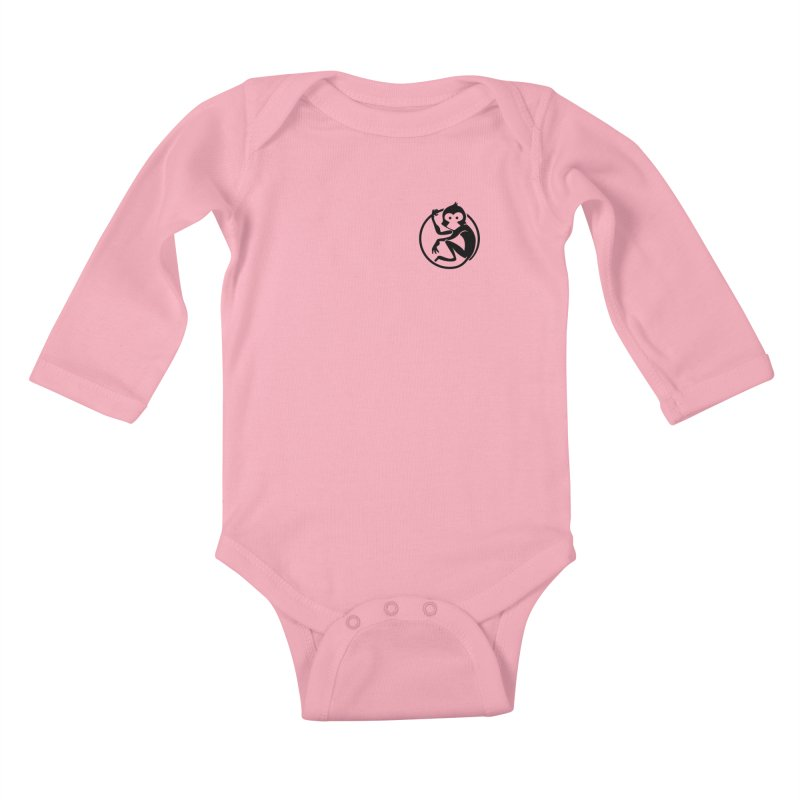 Monkey Kids Baby Longsleeve Bodysuit by The m0nk3y Merchandise Store