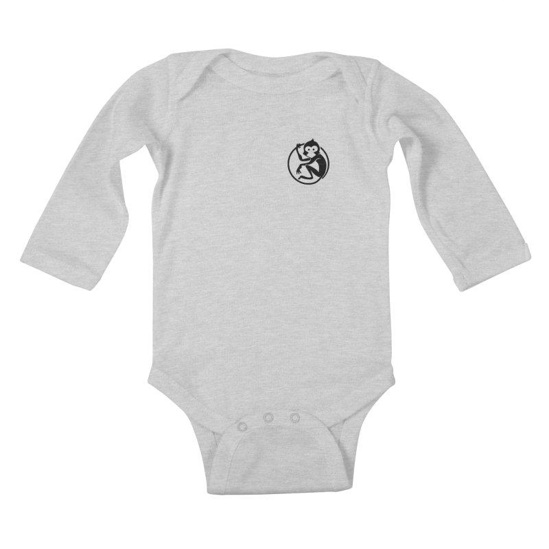 Monkey Kids Baby Longsleeve Bodysuit by The m0nk3y Merchandise Store
