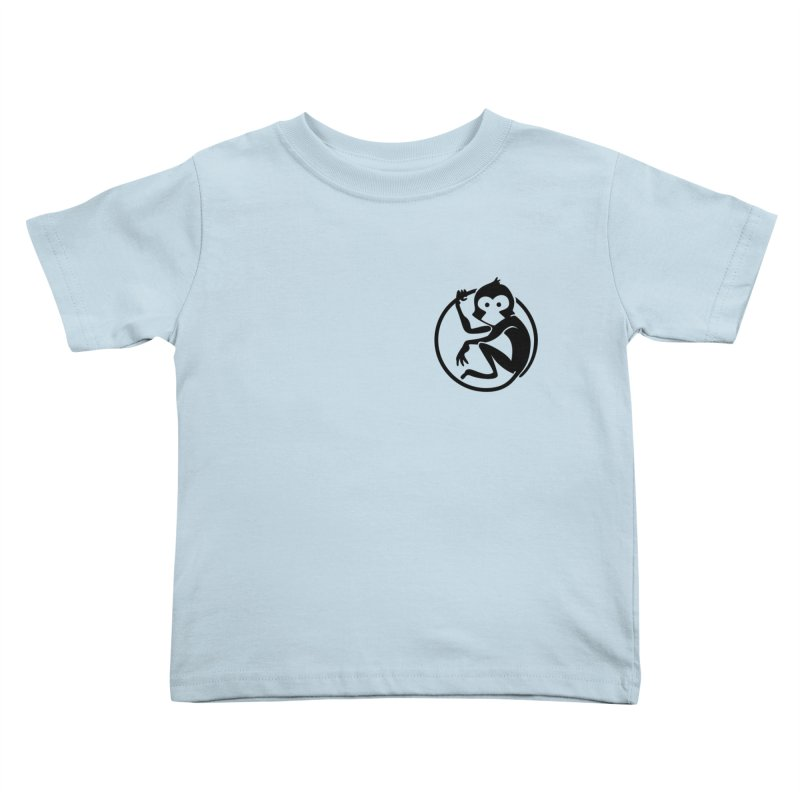 Monkey Kids Toddler T-Shirt by The m0nk3y Merchandise Store