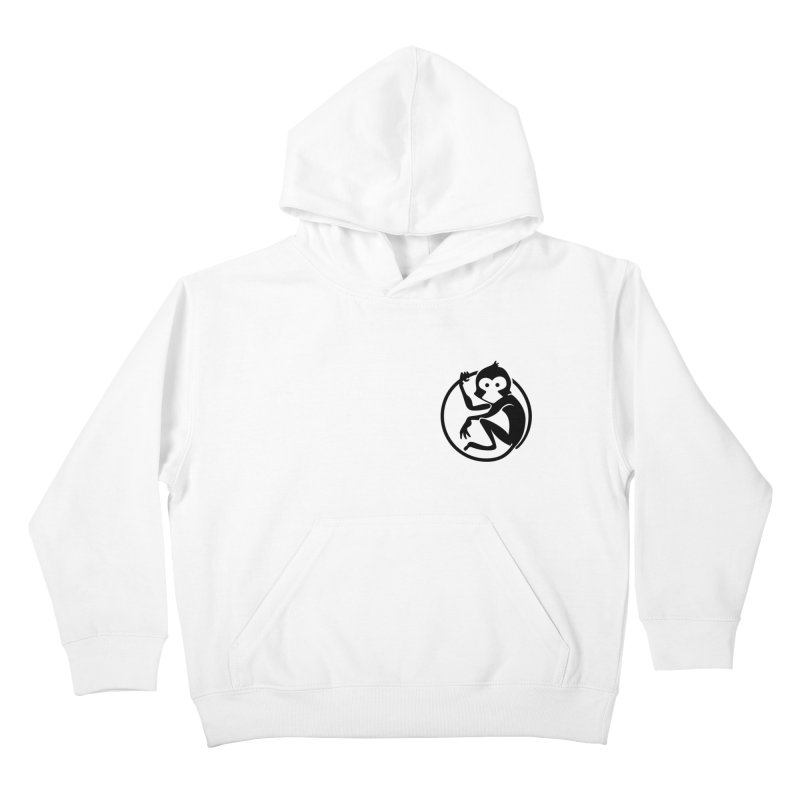 Monkey Kids Pullover Hoody by The m0nk3y Merchandise Store