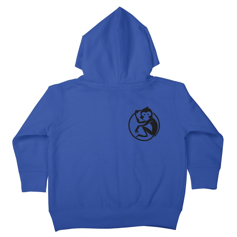 Monkey Kids Toddler Zip-Up Hoody by The m0nk3y Merchandise Store
