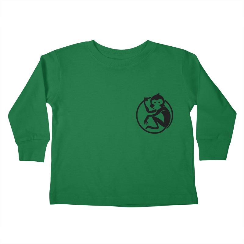 Monkey Kids Toddler Longsleeve T-Shirt by The m0nk3y Merchandise Store