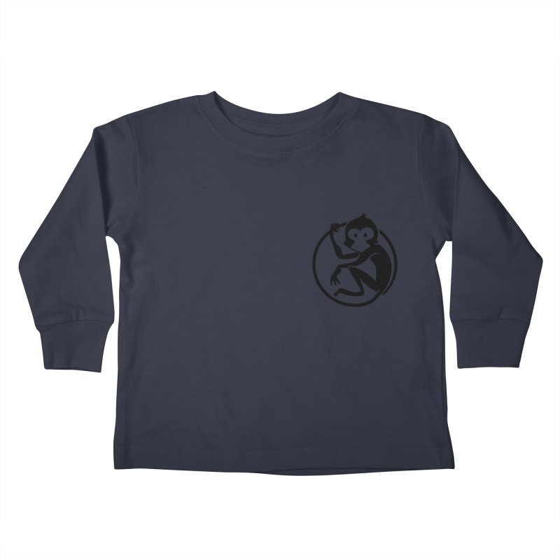 Monkey Kids Toddler Longsleeve T-Shirt by The m0nk3y Merchandise Store