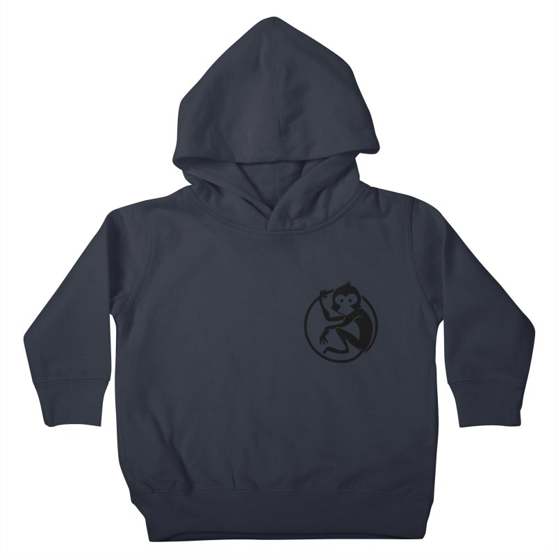 Monkey Kids Toddler Pullover Hoody by The m0nk3y Merchandise Store