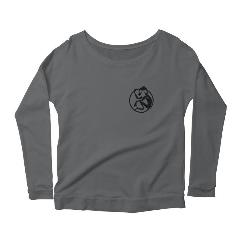 Monkey Women's Scoop Neck Longsleeve T-Shirt by The m0nk3y Merchandise Store