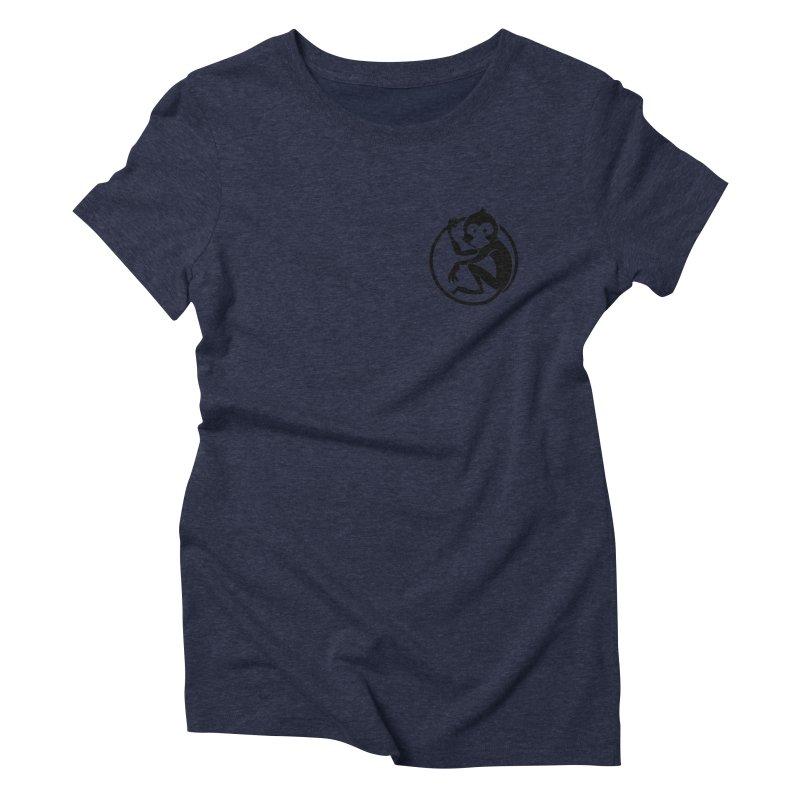 Monkey Women's Triblend T-Shirt by The m0nk3y Merchandise Store