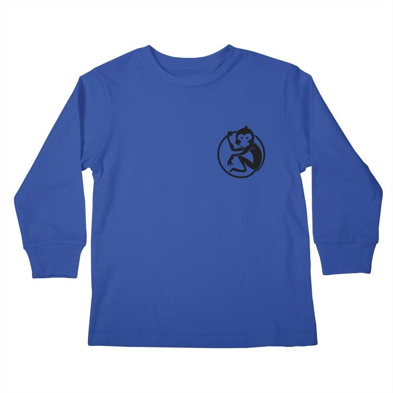 Monkey Kids Longsleeve T-Shirt by The m0nk3y Merchandise Store