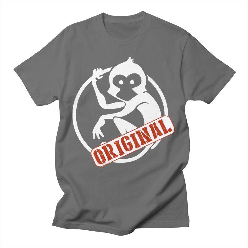 Monkey Original Large Logo Women's T-Shirt by The m0nk3y Merchandise Store