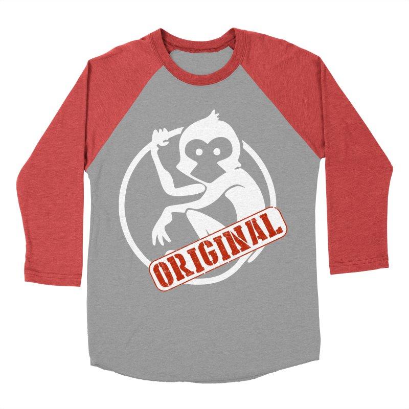 Monkey Original Large Logo Men's Longsleeve T-Shirt by The m0nk3y Merchandise Store