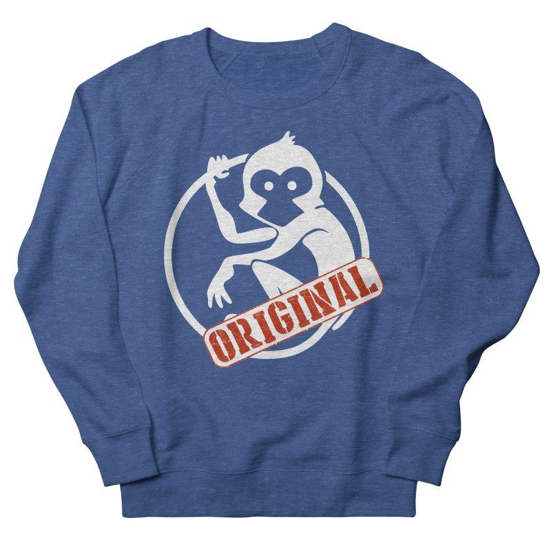 Monkey Original Large Logo Men's French Terry Sweatshirt by The m0nk3y Merchandise Store