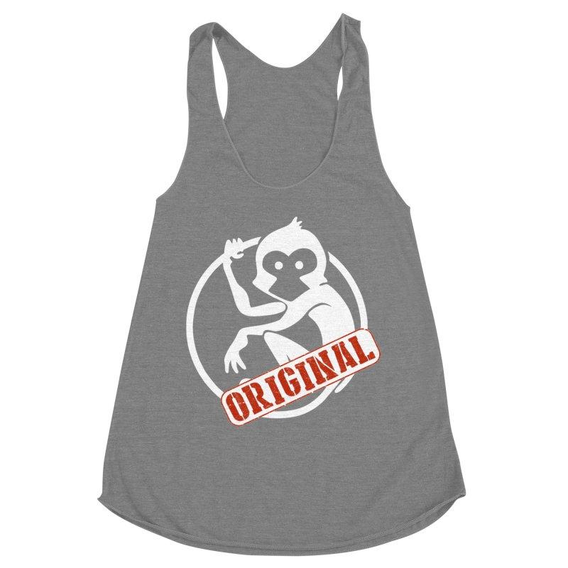 Monkey Original Large Logo Women's Tank by The m0nk3y Merchandise Store