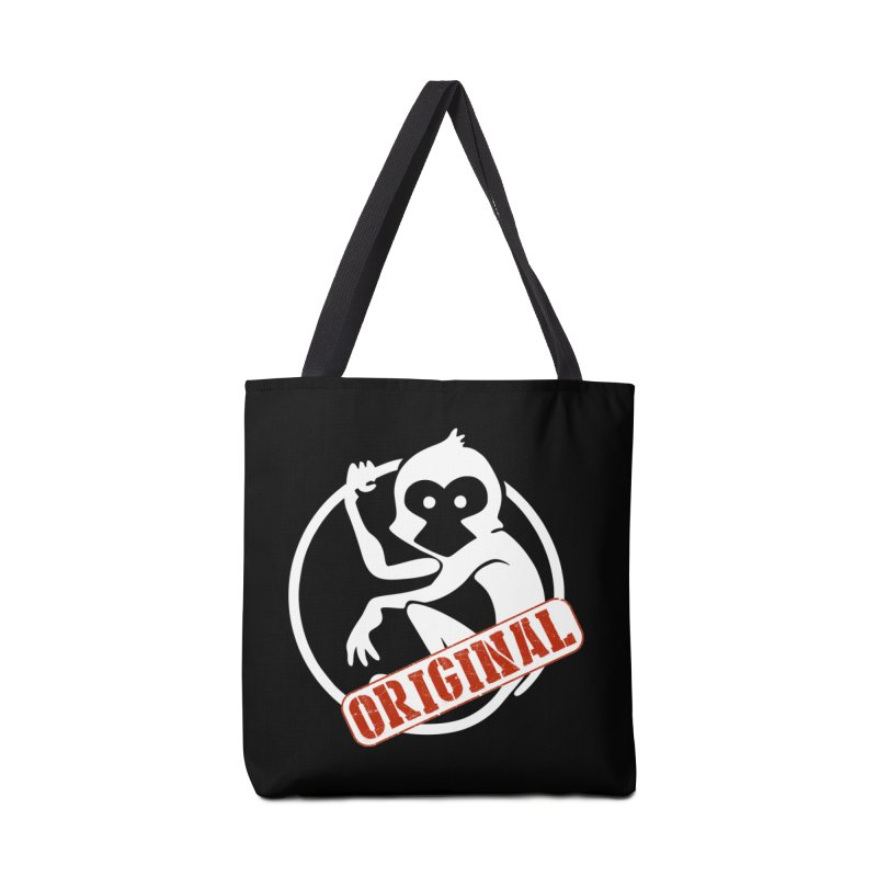 Monkey Original Large Logo Accessories Bag by The m0nk3y Merchandise Store
