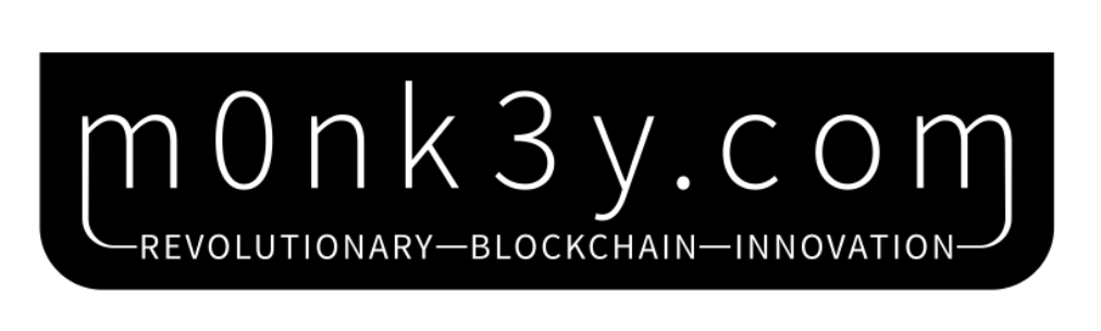 The m0nk3y Merchandise Store Logo