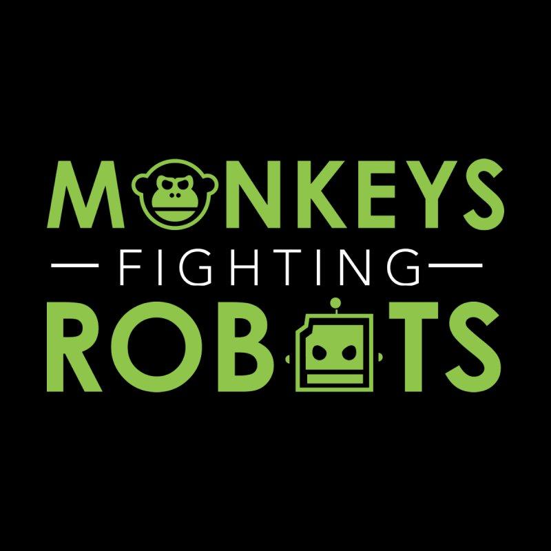Monkeys Fighting Robots Original  Accessories Zip Pouch by Monkeys Fighting Robots' Artist Shop