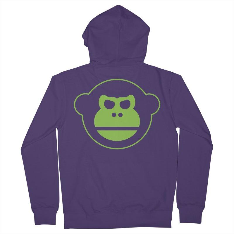 Team Monkey Women's Zip-Up Hoody by Monkeys Fighting Robots' Artist Shop