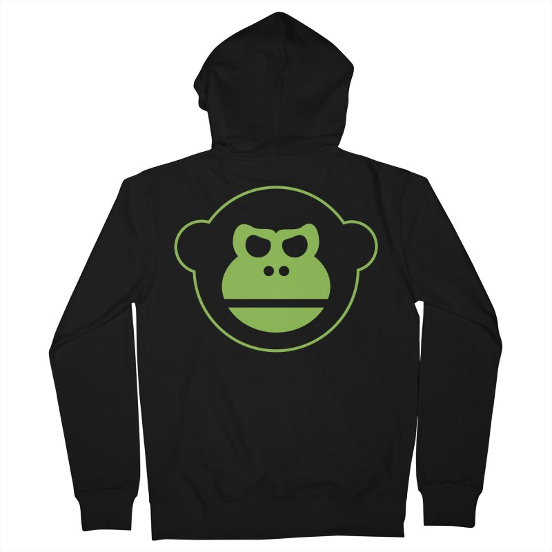 Team Monkey Women's Zip-Up Hoody by Monkeys Fighting Robots' Artist Shop