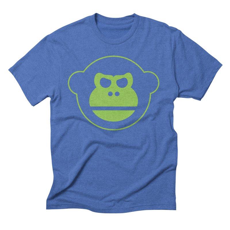 Team Monkey Men's Triblend T-Shirt by Monkeys Fighting Robots' Artist Shop