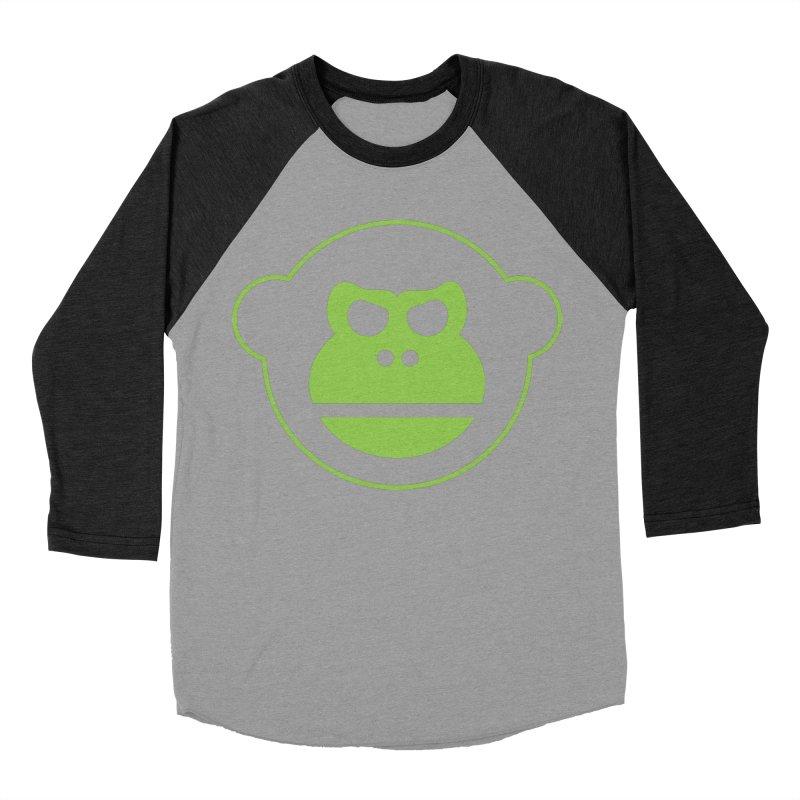 Team Monkey Men's Baseball Triblend T-Shirt by Monkeys Fighting Robots' Artist Shop