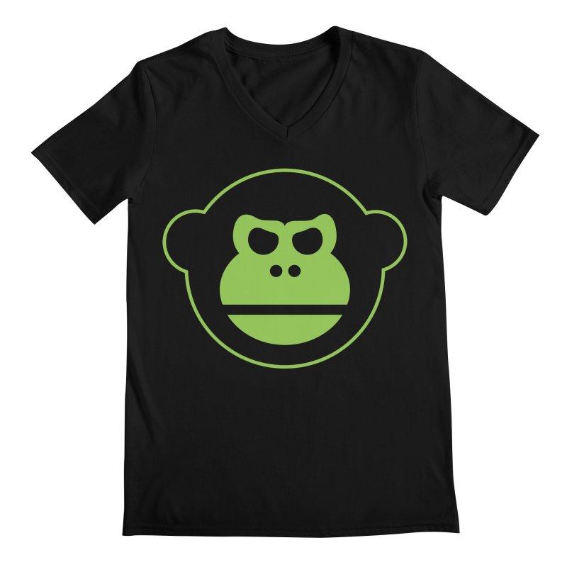 Team Monkey Men's V-Neck by Monkeys Fighting Robots' Artist Shop