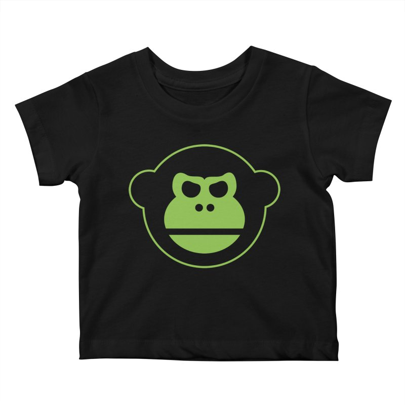 Team Monkey Kids Baby T-Shirt by Monkeys Fighting Robots' Artist Shop