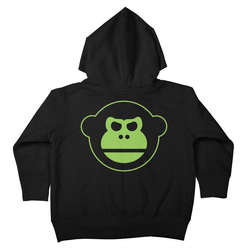 Team Monkey Kids Toddler Zip-Up Hoody by Monkeys Fighting Robots' Artist Shop