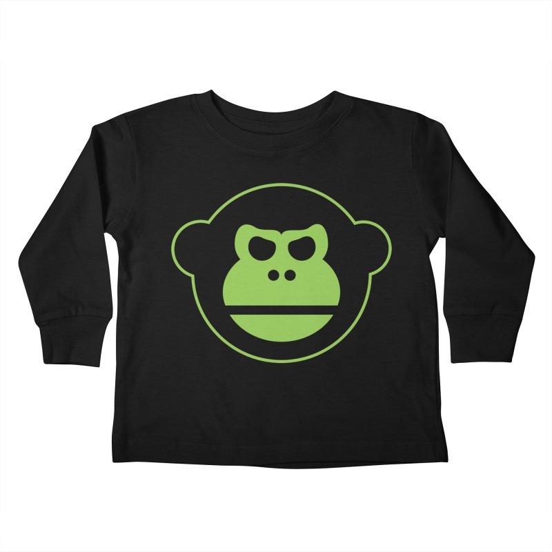 Team Monkey Kids Toddler Longsleeve T-Shirt by Monkeys Fighting Robots' Artist Shop