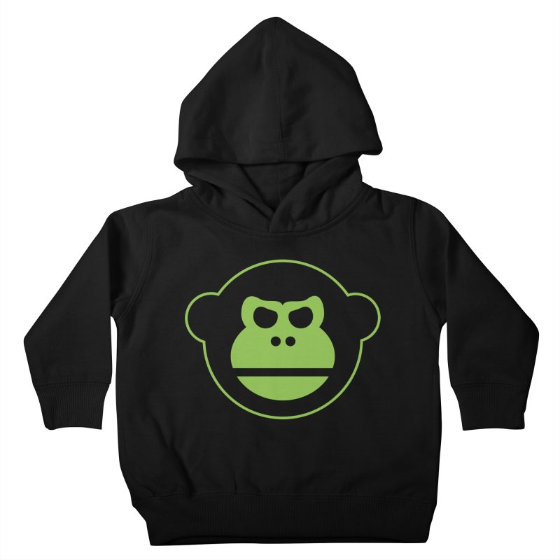 Team Monkey Kids Toddler Pullover Hoody by Monkeys Fighting Robots' Artist Shop