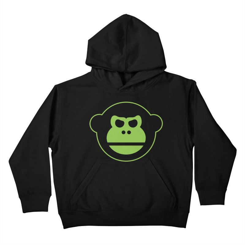Team Monkey Kids Pullover Hoody by Monkeys Fighting Robots' Artist Shop