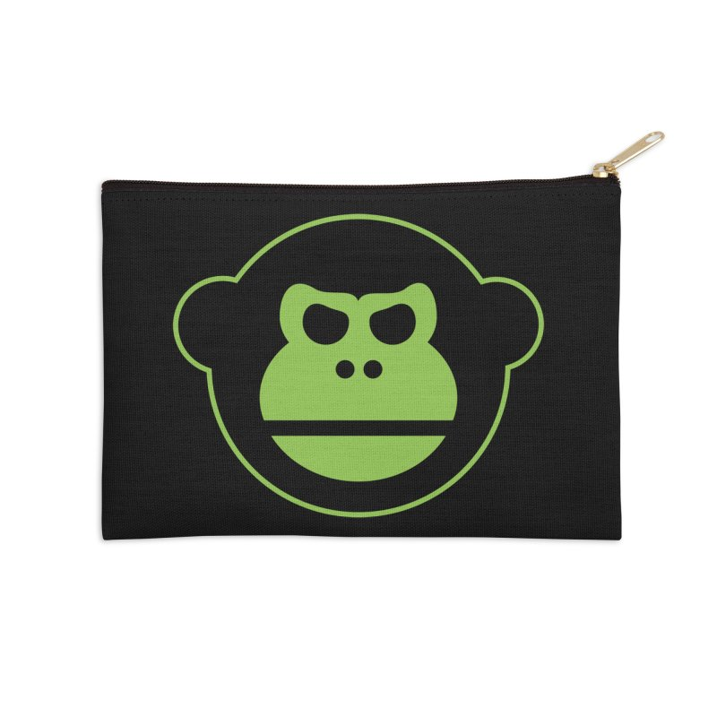 Team Monkey Accessories Zip Pouch by Monkeys Fighting Robots' Artist Shop
