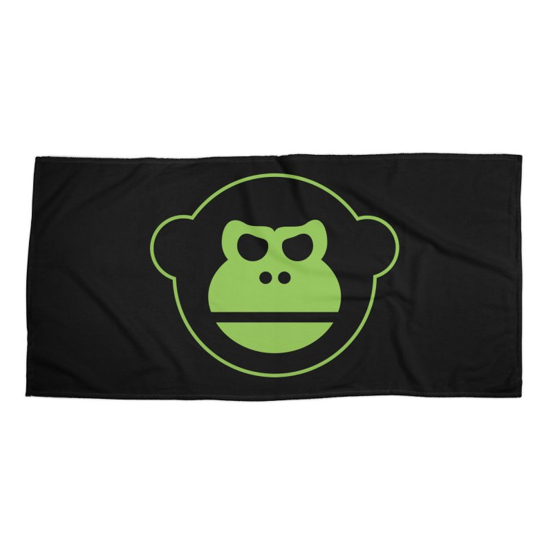 Team Monkey Accessories Beach Towel by Monkeys Fighting Robots' Artist Shop