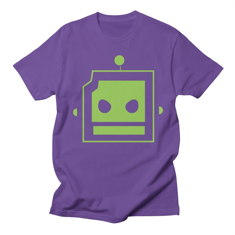 Team Robot  Men's T-Shirt by Monkeys Fighting Robots' Artist Shop