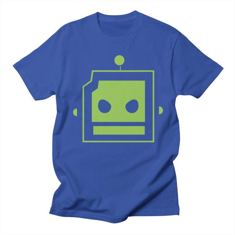 Team Robot  Men's T-Shirt by Monkeys Fighting Robots' Artist Shop