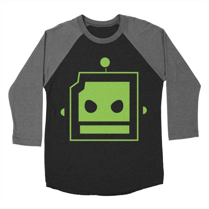 Team Robot  Women's Baseball Triblend Longsleeve T-Shirt by Monkeys Fighting Robots' Artist Shop