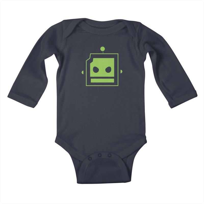Team Robot  Kids Baby Longsleeve Bodysuit by Monkeys Fighting Robots' Artist Shop