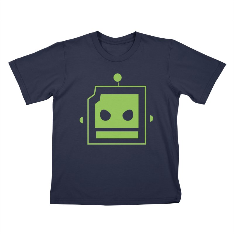 Team Robot  Kids T-shirt by Monkeys Fighting Robots' Artist Shop