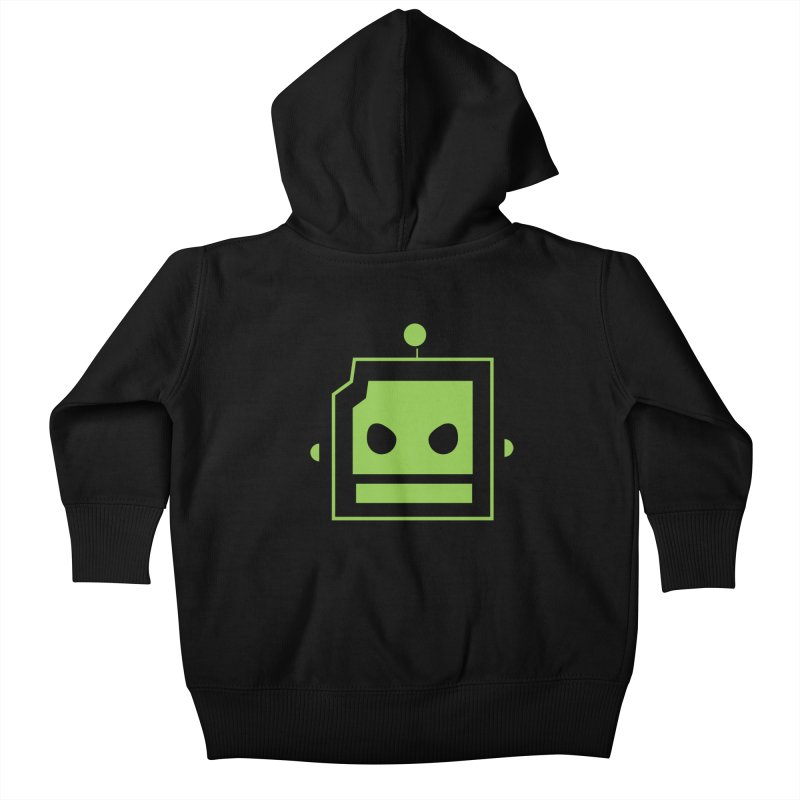 Team Robot  Kids Baby Zip-Up Hoody by Monkeys Fighting Robots' Artist Shop