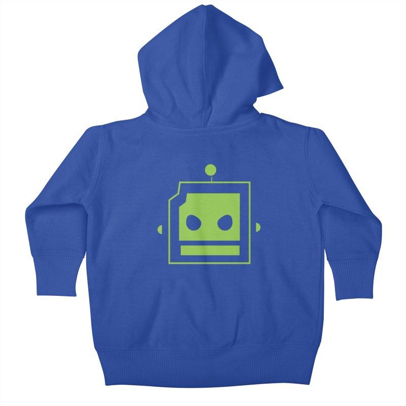 Team Robot  Kids Baby Zip-Up Hoody by Monkeys Fighting Robots' Artist Shop